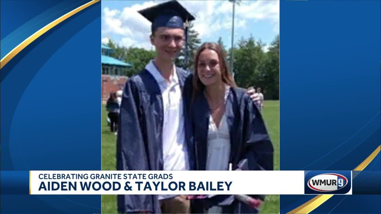 Celebrating Granite State Grads: Aiden Wood and Taylor Bailey