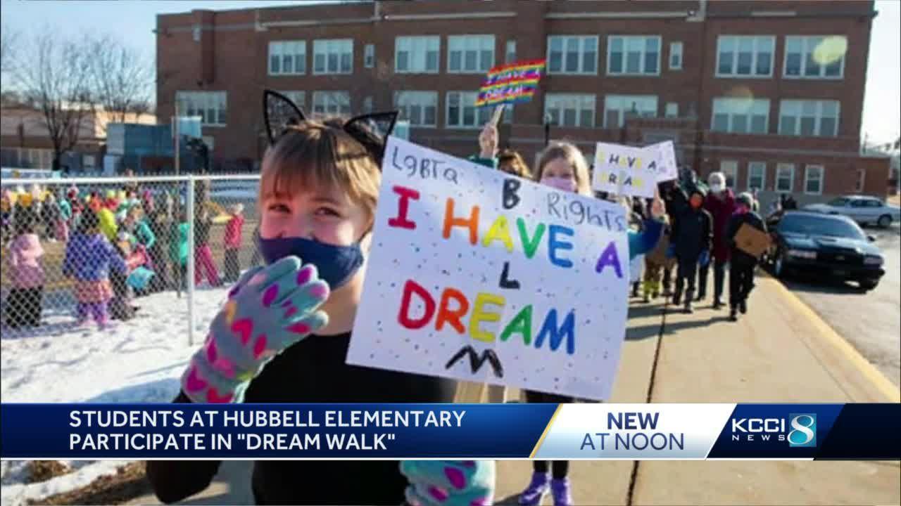 Des Moines students, parents participate in 'Dream Walk'