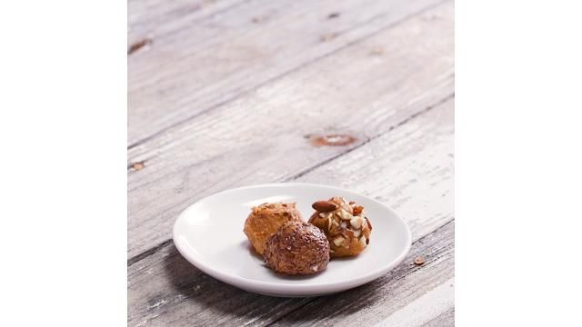 These Delicious Peanut Butter Cake Batter Balls Are Packed With Protein