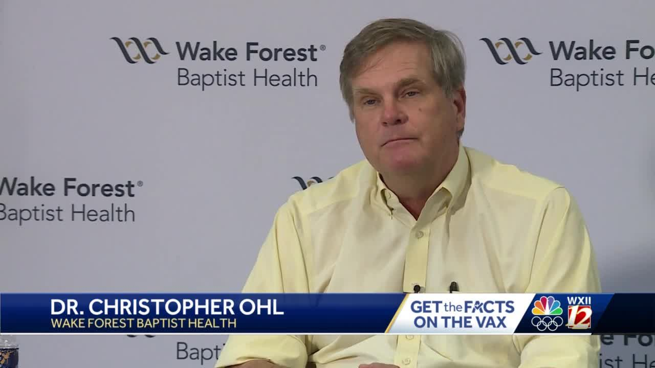 Dr. Ohl answers your questions about the COVID-19 vaccine 6 a.m. Tuesday