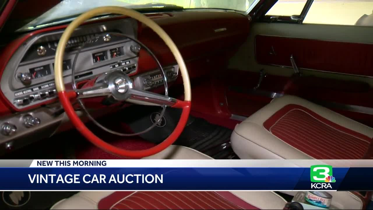 Beauty or junk? Vintage cars go up for auction in Placer County