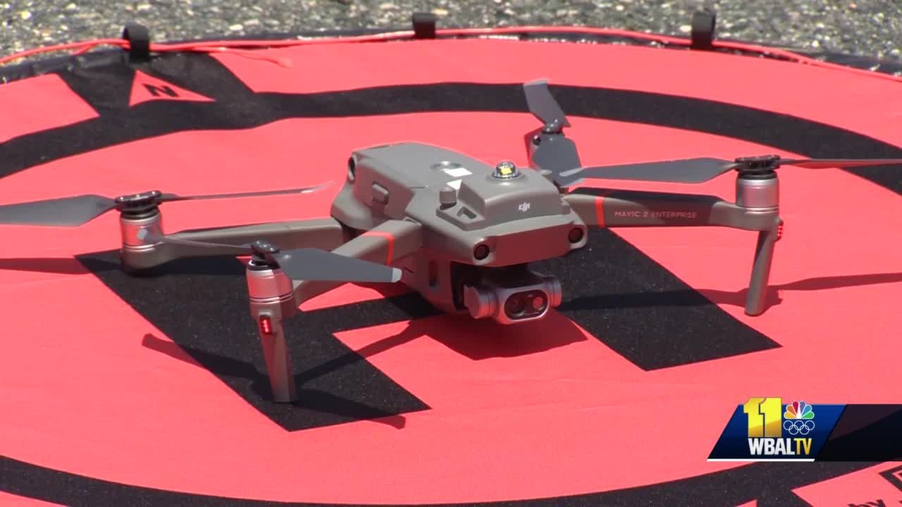 Harford County Sheriff's Office unveils new drones to fight crime