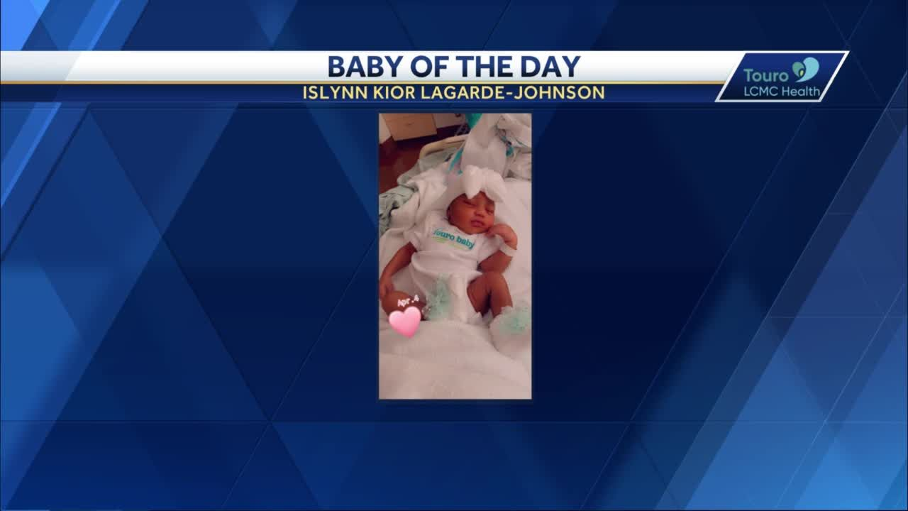WDSU Baby of the Day for May 14, 2021