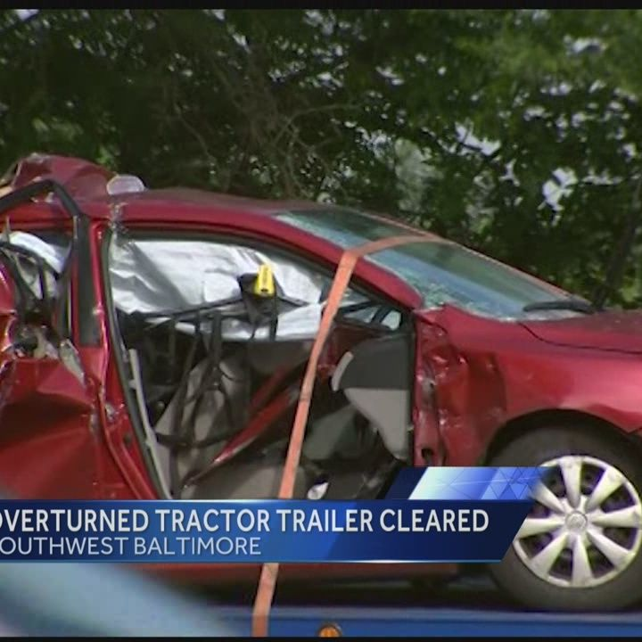 I-95 clears after tractor-trailer accident