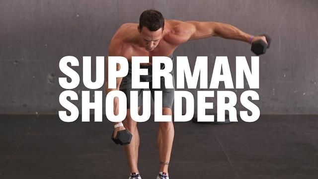 The Shoulder Workout That Also Gives You Great Abs