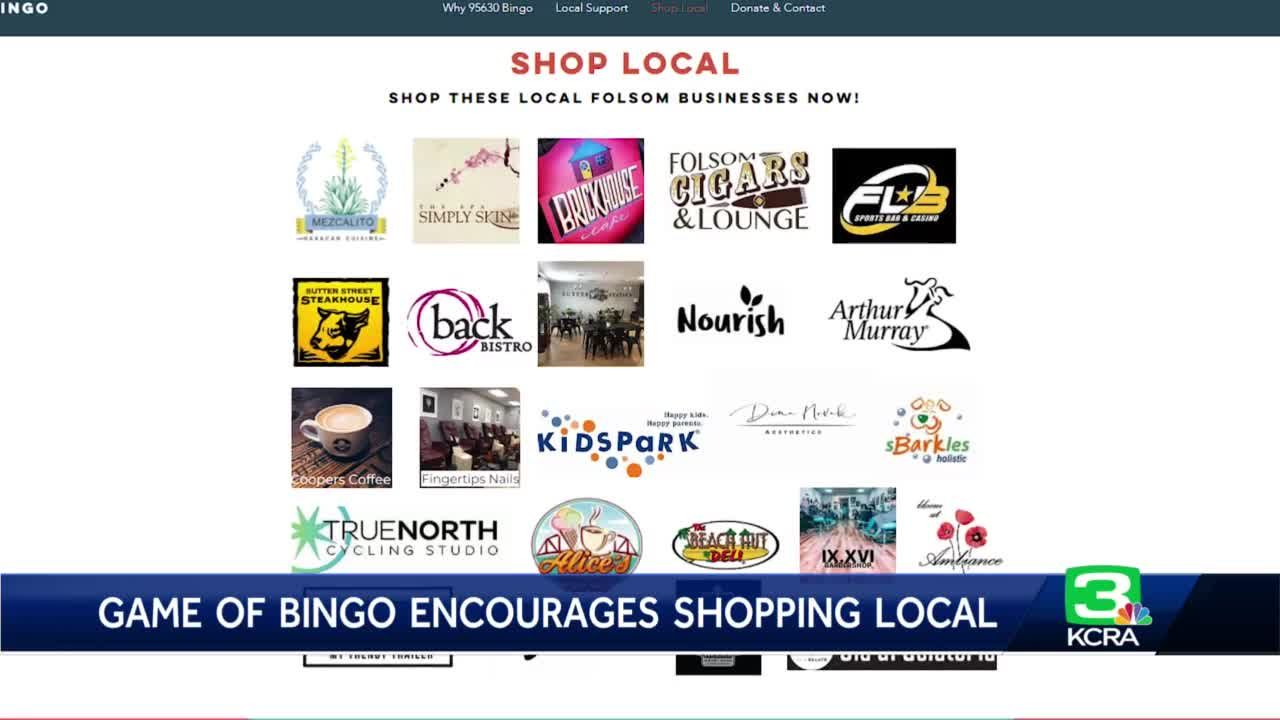 Small biz support in Folsom through a game of bingo