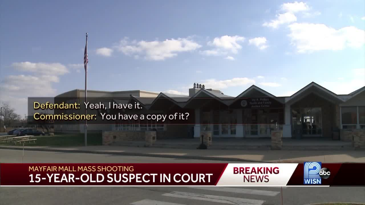 Teen mall shooting suspect held in juvenile detention