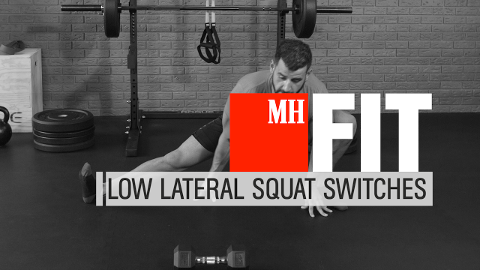 How to Do Low Lateral Squat Switches