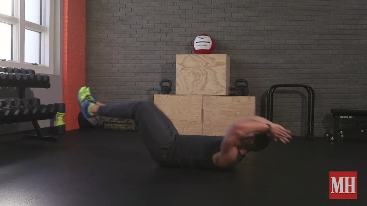 3 Moves, 5 Rounds, One Core-Crushing Workout