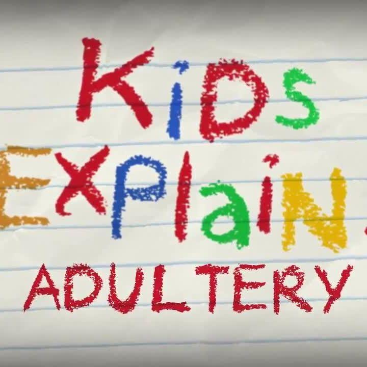 Jimmy Kimmel asks kids to explain adultery