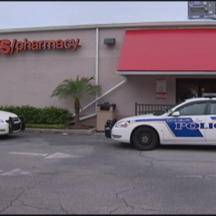 Police Searching For Armed Cvs Robber