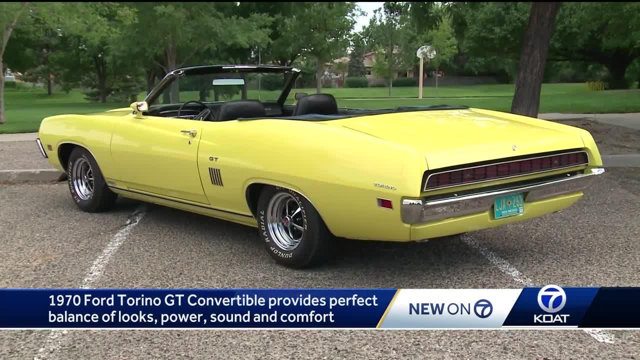 Eric's Auto Ambush: 1970 Ford Torino GT Convertible