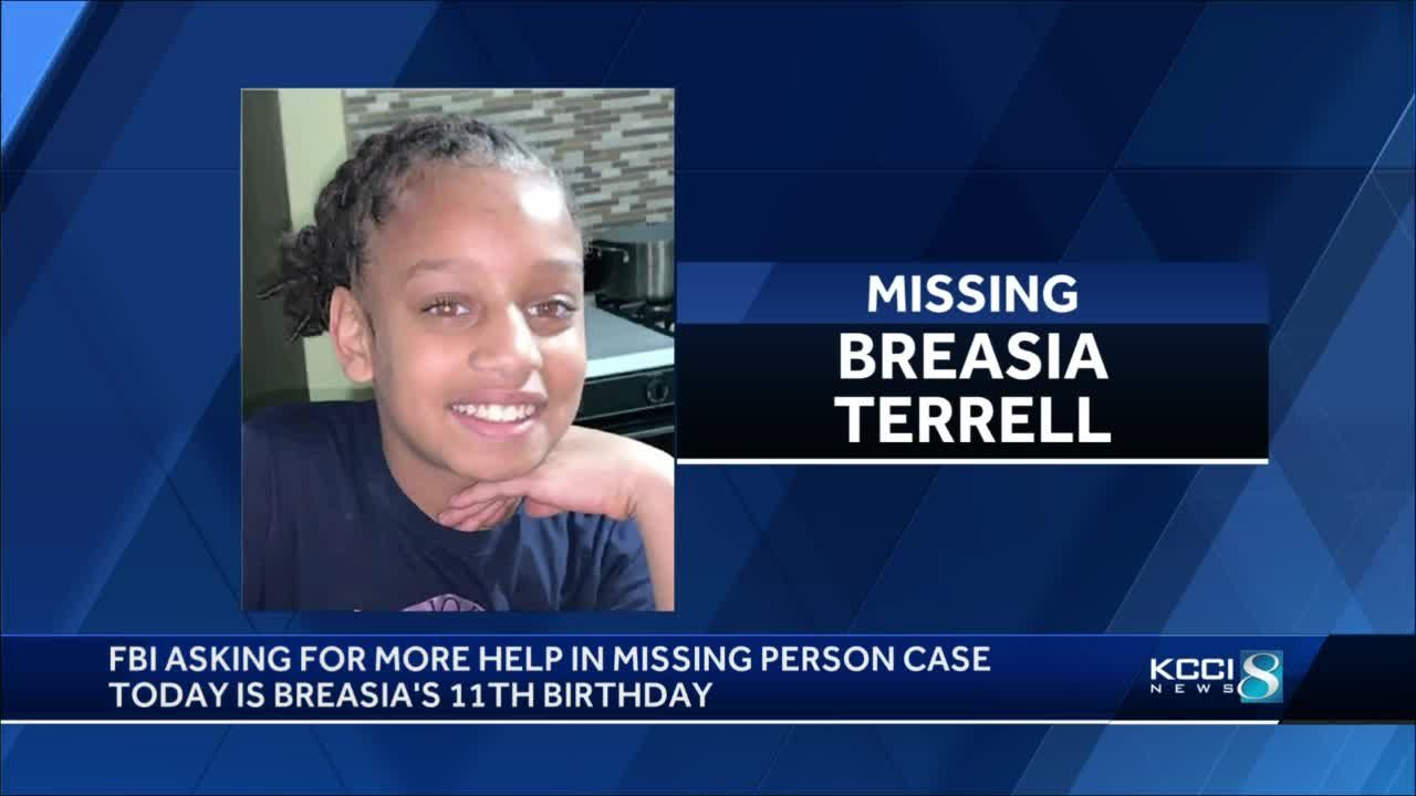 FBI seeks help in Breasia Terrell case
