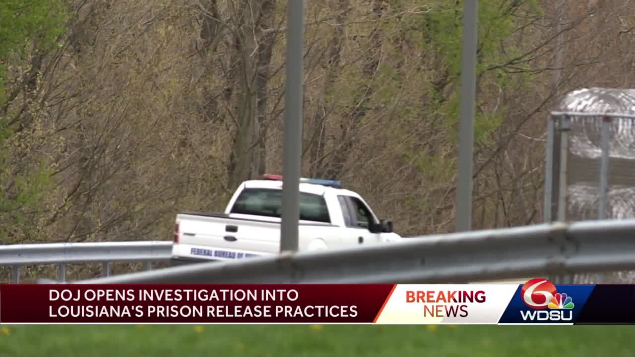 Justice Department Announces Civil Investigation into Louisiana's Prisoner Release Practices