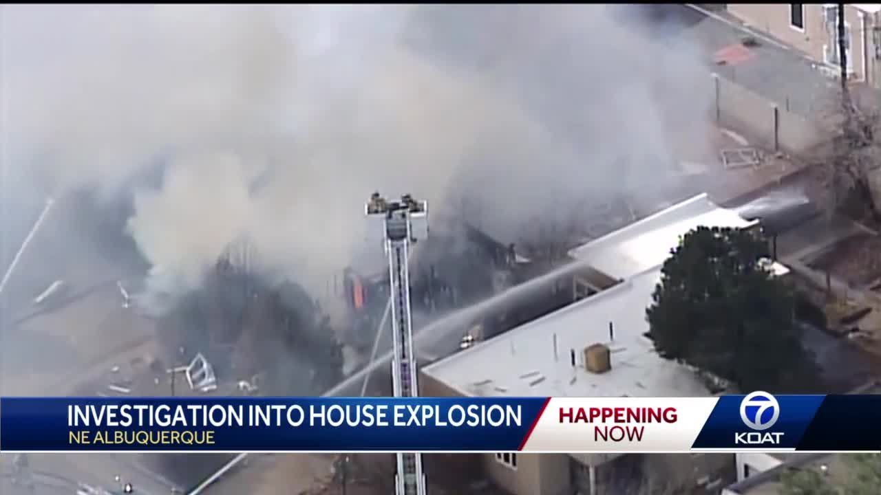 NE ABQ Home Explosion