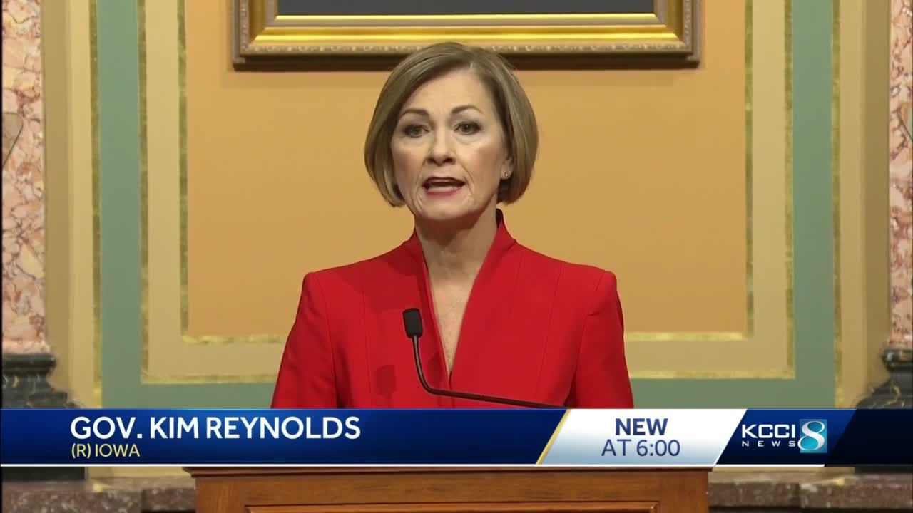 Iowa lawmakers anxiously await Reynolds' education bill