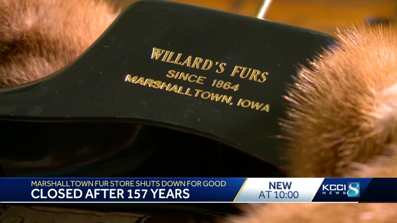 After 157 years of business, Willard's Fur and Fashion in Marshalltown closes