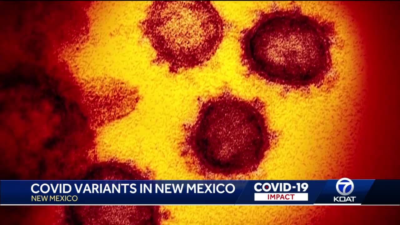 Covid Variants popping up in NM