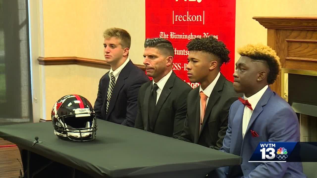 High school football media days: Hoover and Thompson