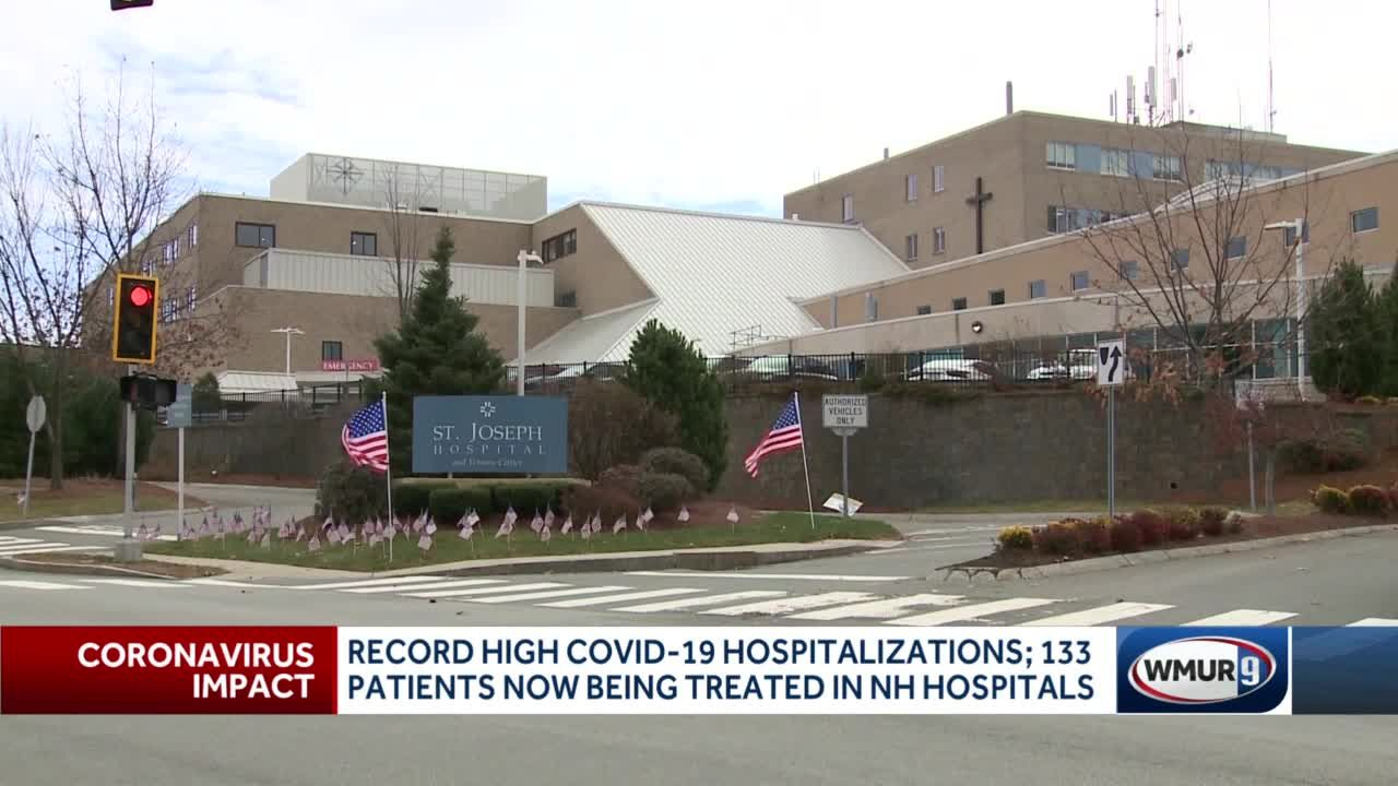 Record high Covid-19 hospitalizations