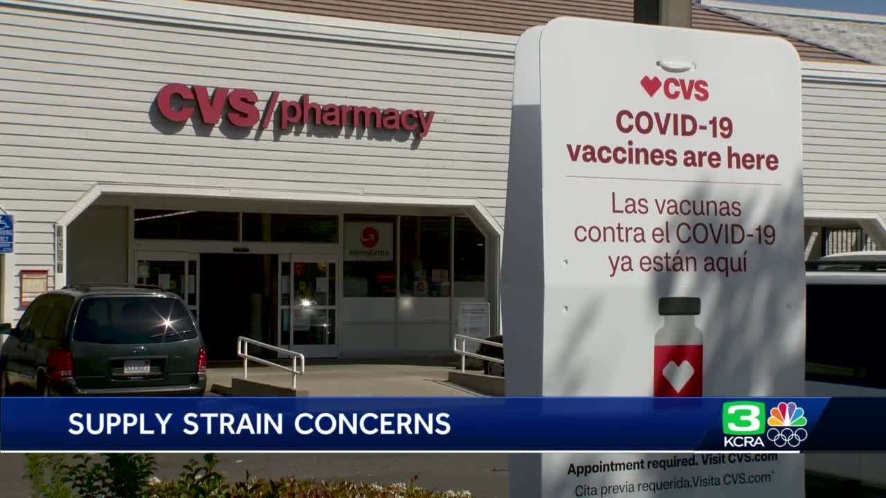 Woman finds out her 2nd-dose COVID-19 vaccine appointment was canceled