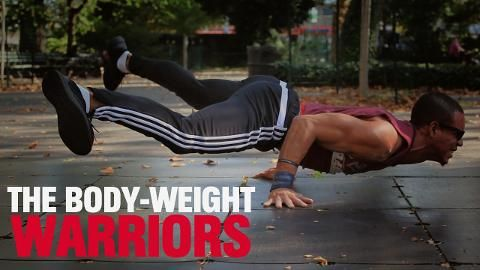 Watch These Body-Weight Warriors Take Flight