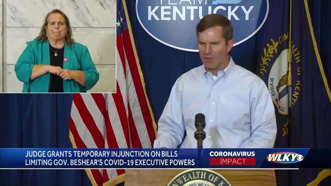 Judge gives Kentucky governor win in showdown with lawmakers over executive orders