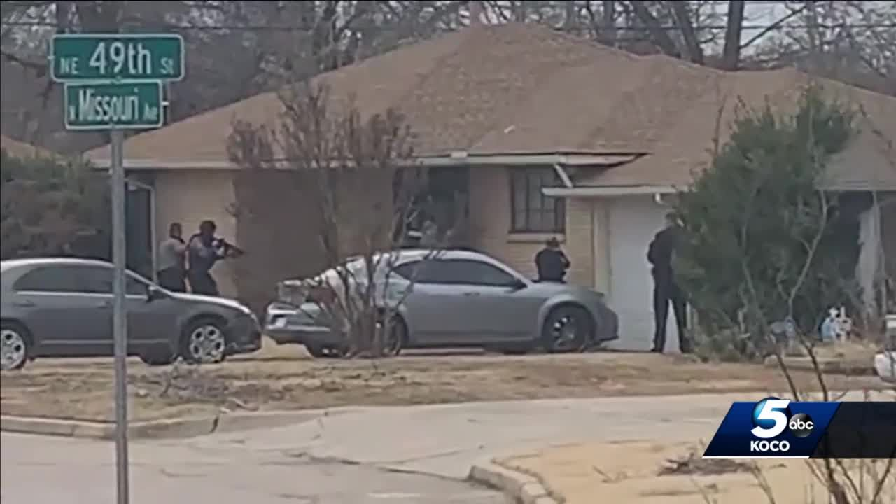 Police officer doing OK after being shot twice while responding to domestic call in NE OKC