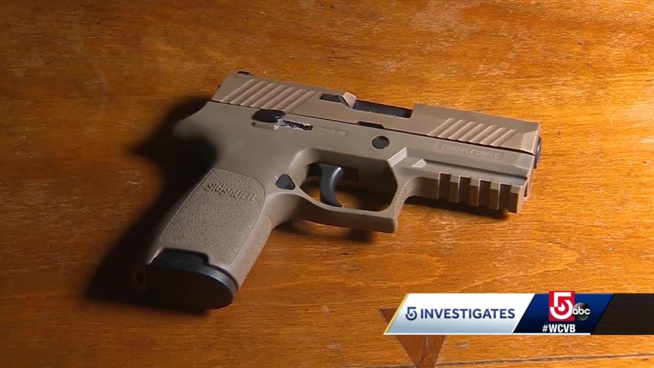 Massachusetts police lieutenant sues gun maker, city of Cambridge