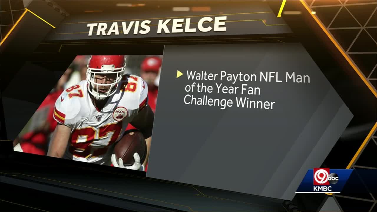 Travis Kelce wins the WPMOY Charity Challenge