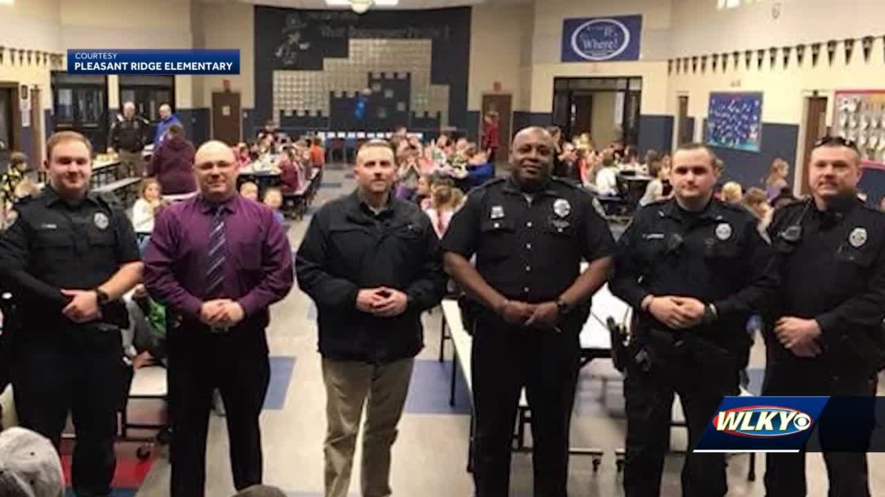 Southern Indiana community comes out to honor life of officer who died of COVID-19