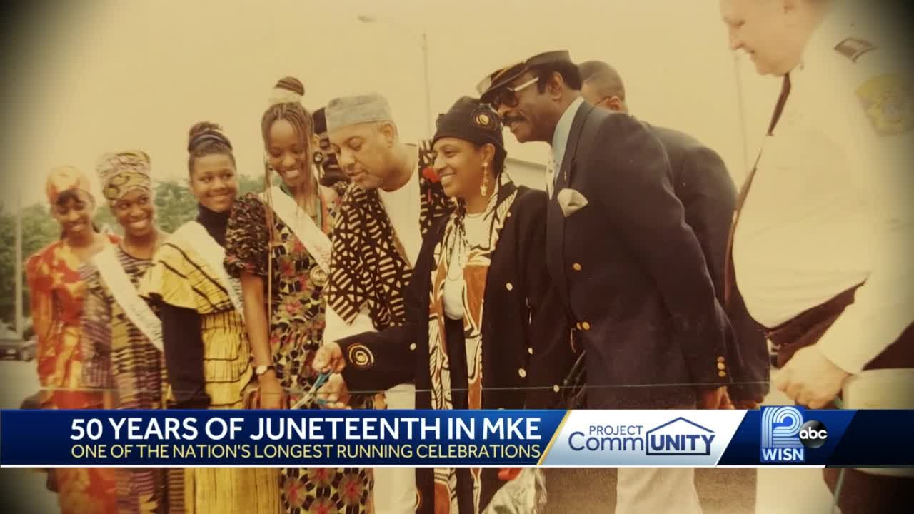 Milwaukee has celebrated Juneteenth for 50 years