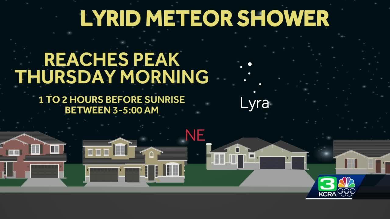 Lyrid meteor shower to peak this week