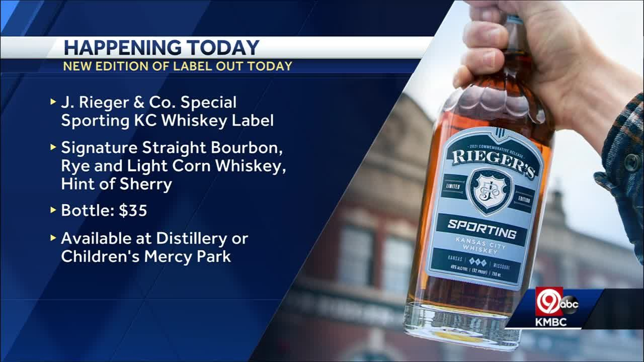 J. Rieger & Co. teams up with Sporting KC for special whisky label