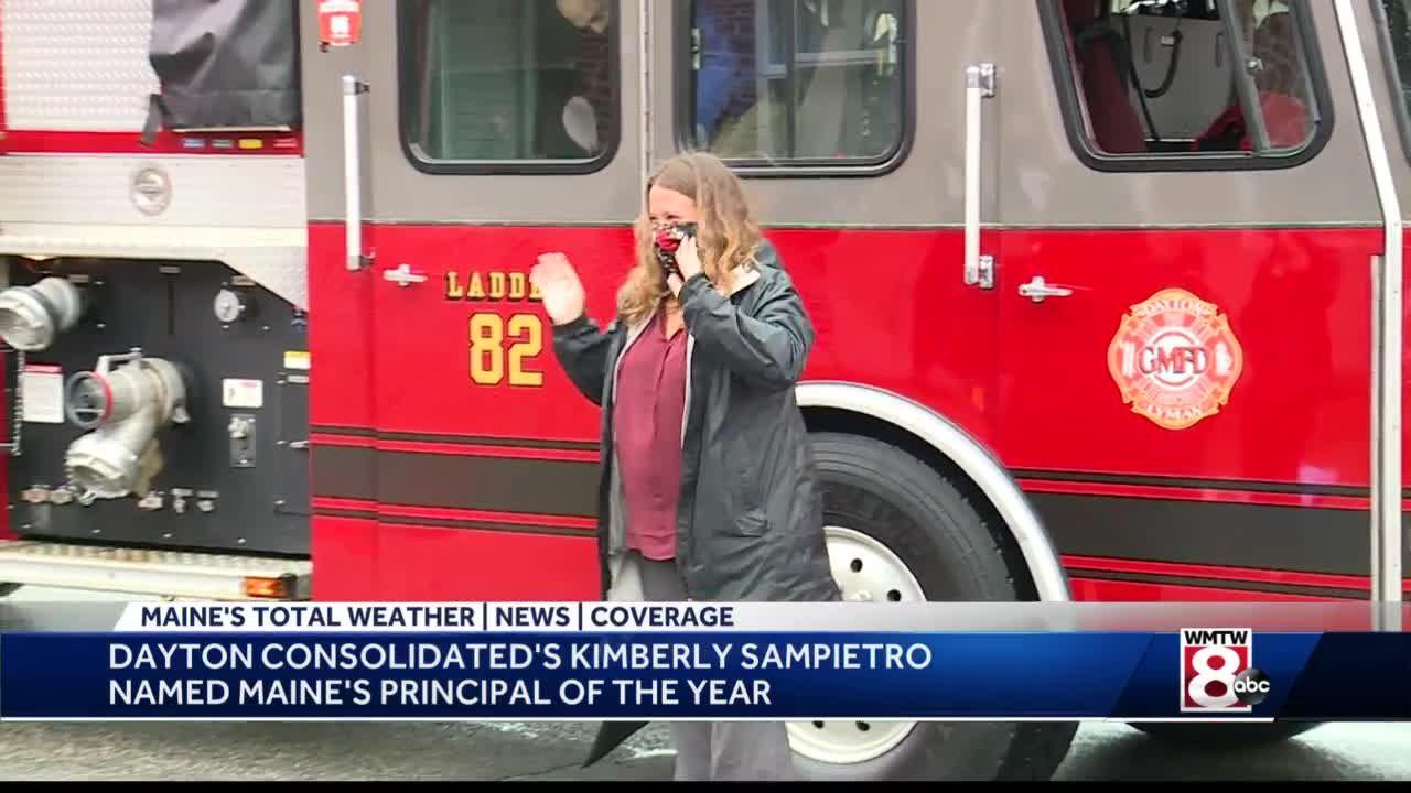 Dayton educator named Maine principal of the year