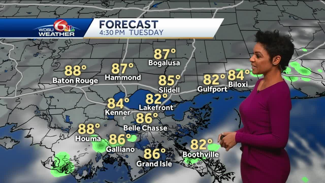 Warm week, rain chances increase late week