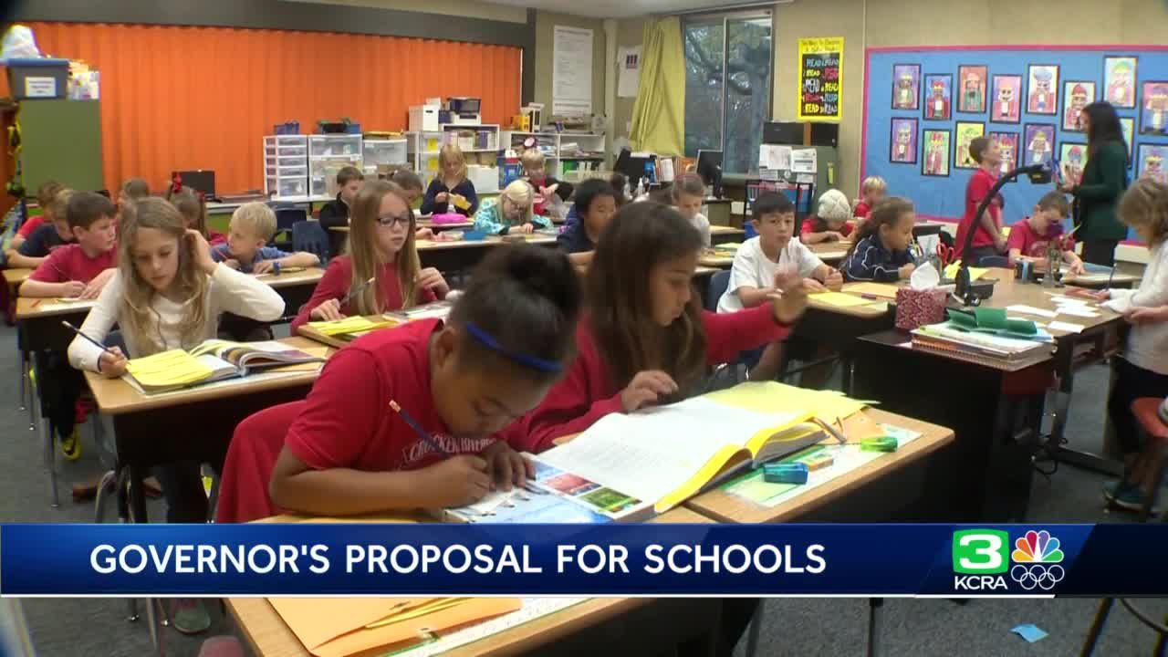 California governor proposes kindergarten for 4-year-olds
