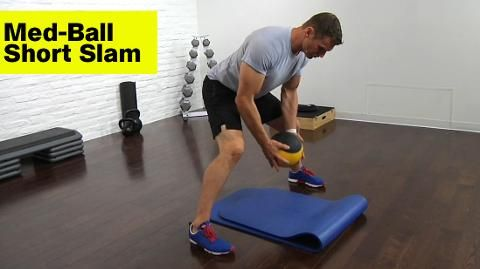 Why You Must Add This Explosive Medicine-Ball Move to Your Workout