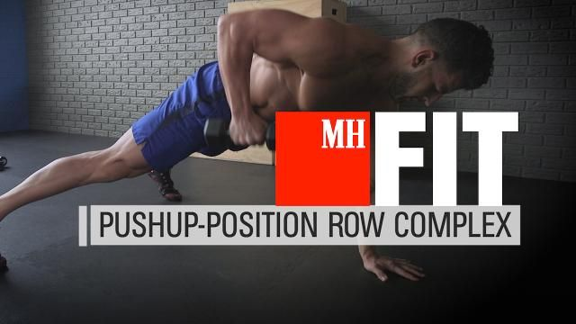 Build Awesome Abs and Arms With This One Exercise