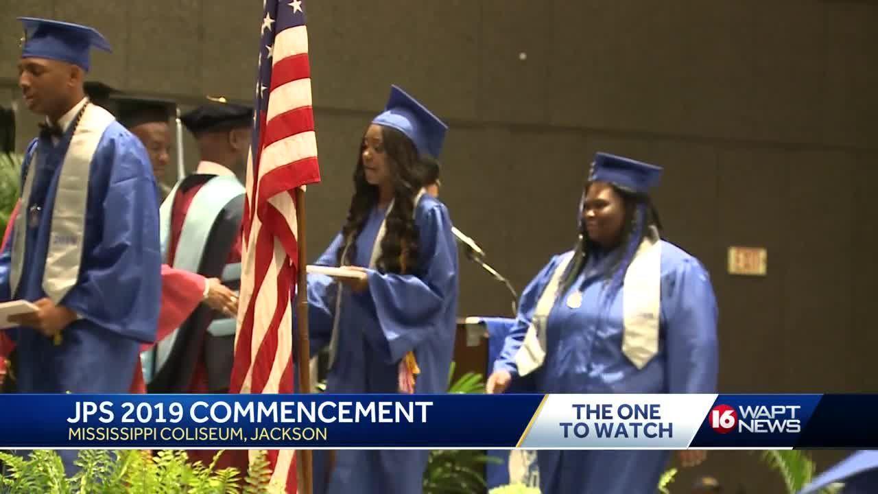 'It's a milestone,' JPS students graduate