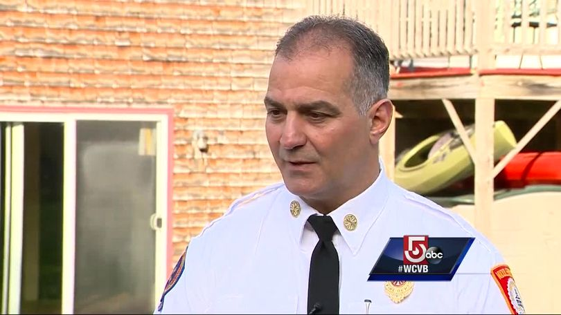 Fire chief hailed for saving student's life in the mountains
