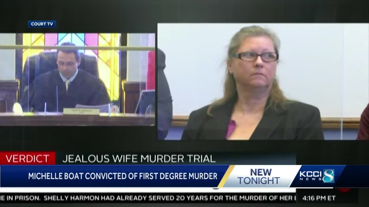 Michelle Boat found guilty of murder after 45 minutes of jury deliberation
