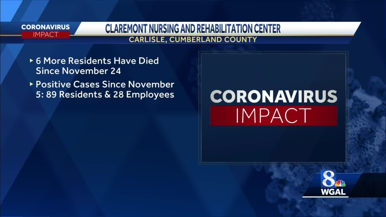 Claremont nursing home announces 4 more COVID-19 related deaths