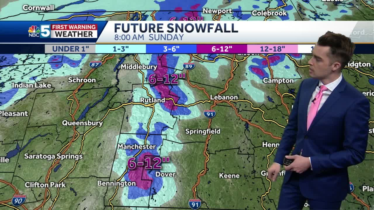Video: Mountain snow continues (1-16-21)