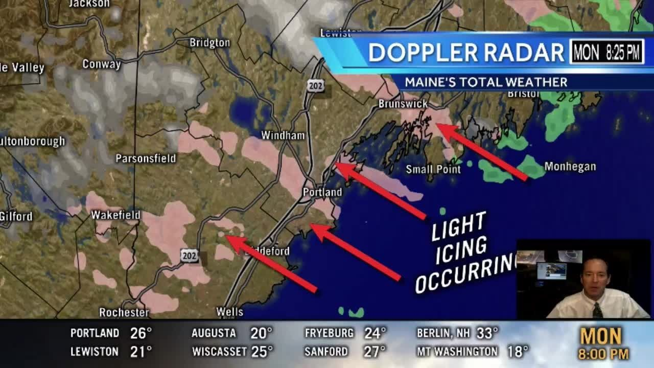 9pm Maine's Total Weather Update