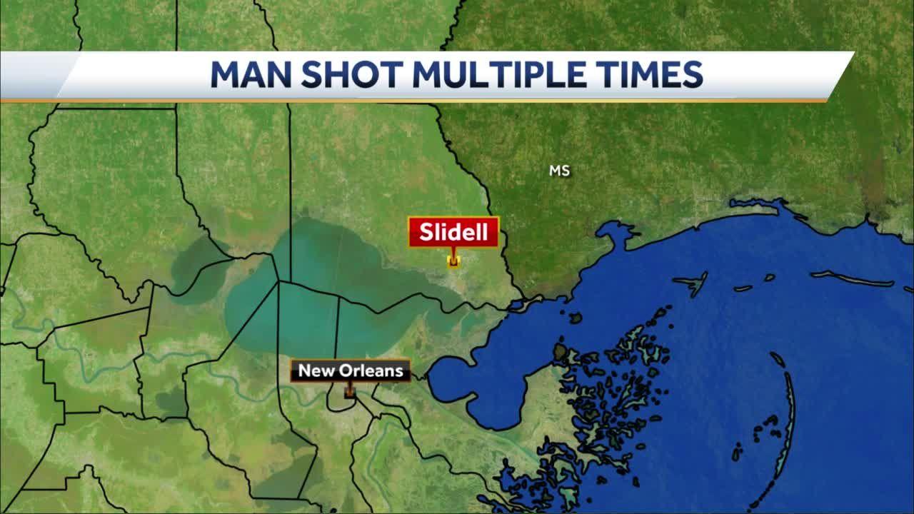 Man shot in Slidell early Wednesday