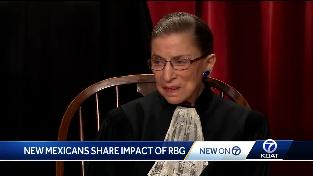 New Mexicans share impact of Justice Ruth Bader Ginsburg