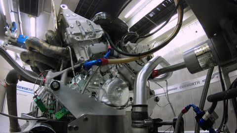 Aston Martin Valkyrie Engine - 1000 HP Cosworth V12 With