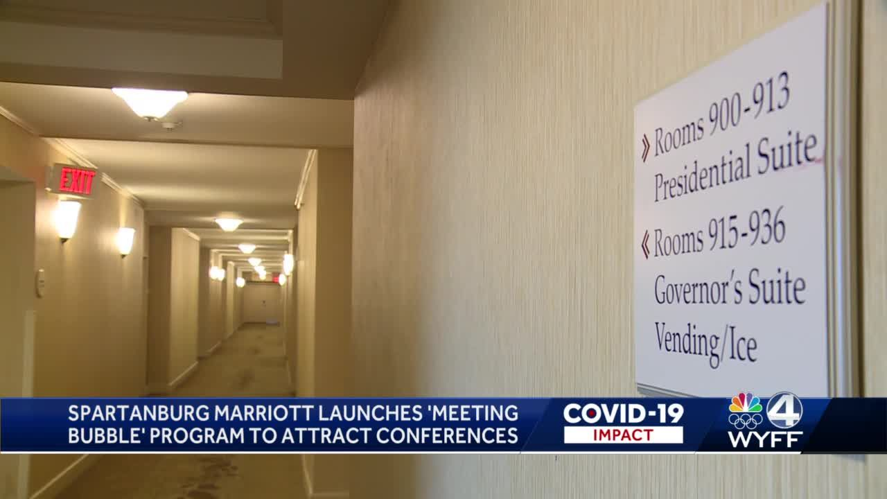 Spartanburg Marriott launches 'Meeting Bubble' to attract conferences