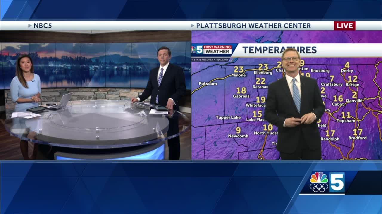 Video: Tom Messner says snow is coming Tuesday afternoon. 1.25.21